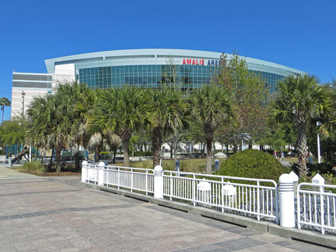 Amalie Arena in Tampa Florida