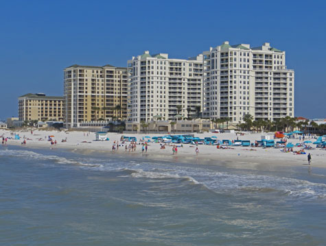 Hotel Accommodation at Clearwater Beach
