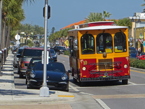 Jolley Trolley, Clearwater Florida